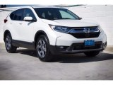 2017 White Diamond Pearl Honda CR-V EX-L #123389796