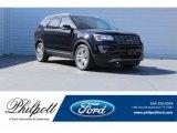 2017 Shadow Black Ford Explorer XLT #123389860