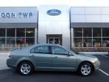 2009 Moss Green Metallic Ford Fusion SE V6 #123389855