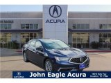 2018 Fathom Blue Pearl Acura TLX Technology Sedan #123389677