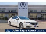 2018 Bellanova White Pearl Acura TLX Technology Sedan #123389676
