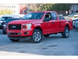 2018 Race Red Ford F150 STX SuperCab 4x4 #123389770