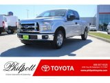 2015 Ingot Silver Metallic Ford F150 XL SuperCab #123389891