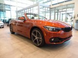 2018 BMW 4 Series Sunset Orange Metallic