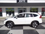 2016 White Diamond Pearl Honda CR-V Touring AWD #123422371