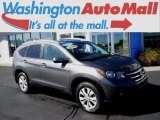 2014 Polished Metal Metallic Honda CR-V EX-L AWD #123422274