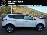 2018 Oxford White Ford Escape SEL 4WD #123422258
