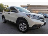 2014 White Diamond Pearl Honda CR-V LX AWD #123444052