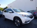 2016 White Diamond Pearl Honda CR-V Touring AWD #123444036