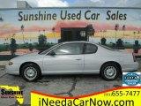 2000 Galaxy Silver Metallic Chevrolet Monte Carlo LS #123443990