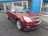 2010 Cardinal Red Metallic Chevrolet Equinox LTZ AWD #123456795