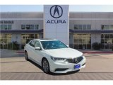 2018 Bellanova White Pearl Acura TLX Sedan #123456787