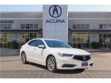 2018 Bellanova White Pearl Acura TLX Technology Sedan #123456784