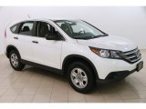2013 White Diamond Pearl Honda CR-V LX AWD #123456947