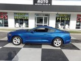 2017 Lightning Blue Ford Mustang V6 Coupe #123469852