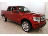 2013 Ruby Red Metallic Ford F150 Limited SuperCrew 4x4 #123469938
