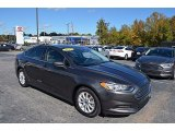 2015 Magnetic Metallic Ford Fusion S #123469797