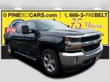 2018 Black Chevrolet Silverado 1500 LT Crew Cab 4x4 #123469749