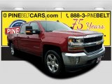 2018 Cajun Red Tintcoat Chevrolet Silverado 1500 LT Crew Cab 4x4 #123469747