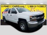 2018 Summit White Chevrolet Silverado 1500 LS Double Cab 4x4 #123469746