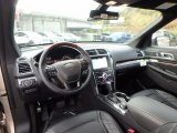 2017 Ford Explorer Platinum 4WD Ebony Black Interior