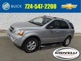 2009 Bright Silver Kia Sorento LX 4x4 #123469870