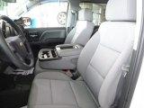 2018 Chevrolet Silverado 1500 Custom Crew Cab 4x4 Dark Ash/Jet Black Interior