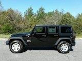 2017 Black Jeep Wrangler Unlimited Sport 4x4 #123489468