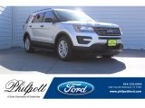 2017 Ingot Silver Ford Explorer FWD #123489627