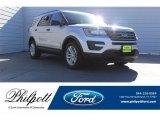 2017 Ingot Silver Ford Explorer FWD #123489626