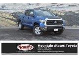 2018 Blazing Blue Pearl Toyota Tundra SR5 CrewMax 4x4 #123489510