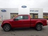 2018 Ruby Red Ford F150 XLT SuperCab 4x4 #123489814