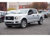 2018 Ingot Silver Ford F150 STX SuperCrew 4x4 #123512726