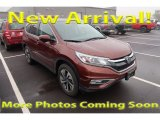 2015 White Diamond Pearl Honda CR-V Touring #123512828