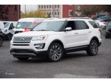 2017 White Platinum Ford Explorer Platinum 4WD #123512718