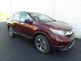 2017 Basque Red Pearl II Honda CR-V LX AWD #123536143