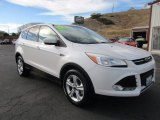2013 Oxford White Ford Escape SE 2.0L EcoBoost #123536461