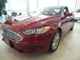 2017 Ruby Red Ford Fusion SE #123536551
