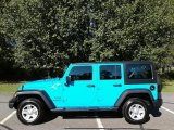 2017 Chief Blue Jeep Wrangler Unlimited Sport 4x4 #123535878