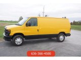 2008 Ford E Series Van Fleet Yellow