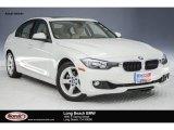 2014 Mineral White Metallic BMW 3 Series 328i Sedan #123536401