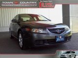 2005 Carbon Gray Pearl Acura TSX Sedan #12356232