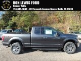 2018 Magnetic Ford F150 XLT SuperCab 4x4 #123536068