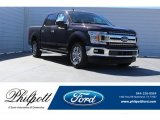 2018 Magma Red Ford F150 XL SuperCrew 4x4 #123590508