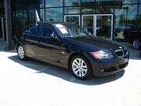 2007 Jet Black BMW 3 Series 328i Sedan #12349629