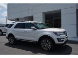 2017 White Platinum Ford Explorer Platinum 4WD #123590438