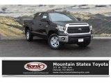 2018 Midnight Black Metallic Toyota Tundra SR5 CrewMax 4x4 #123590324