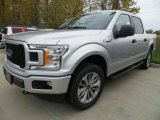 2018 Ingot Silver Ford F150 STX SuperCrew 4x4 #123616568