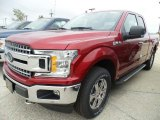 2018 Ruby Red Ford F150 XLT SuperCab 4x4 #123616560
