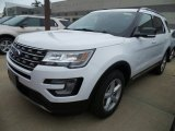 2017 Oxford White Ford Explorer XLT 4WD #123616558